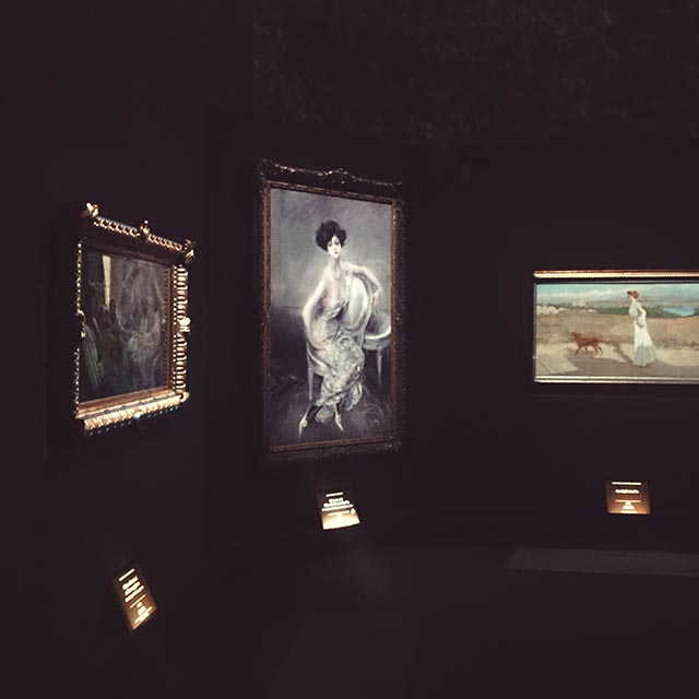 exhibition Giovanni Boldini Rome, paiting Franca Florio, Exhibition in Rome