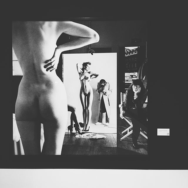 Mostra PAN Napoli Helmut Newton, Big Nudes, Sleepless Nights, White Women