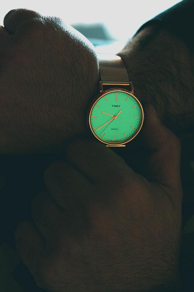 Timex Fairfield Rose Gold, Men's watch