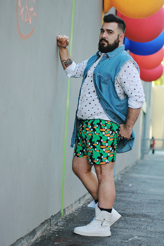 men summer fashion style, plus size fashion blogger men Rome