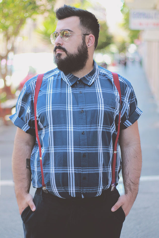 badhrino short sleeve shirt, plus size men outfit