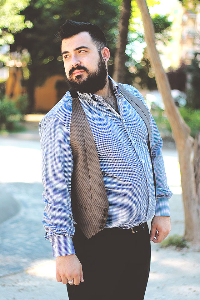 camicia su misura lanieri, plus size men outfit fashion blogger