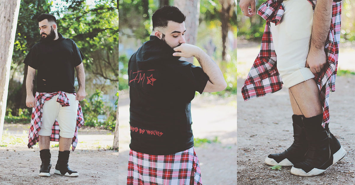 Scopri gli elementi chiave di un look streetwear con le creazioni di Lie To Me LTM: joggers e tshirt possono rendere moderno anche l'outfit più tradizionale