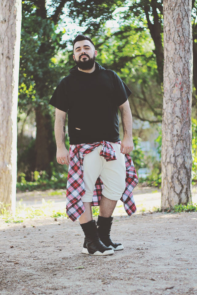 streetwear outfit, Lie To Me LTM, plus size men outfit