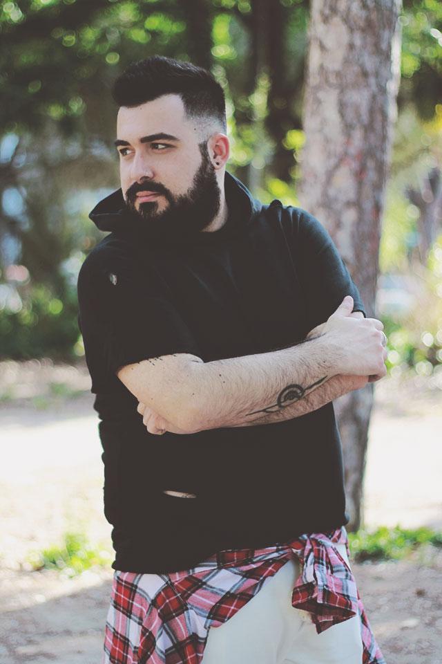look streetwear uomo, Lie To Me LTM, plus size men outfit