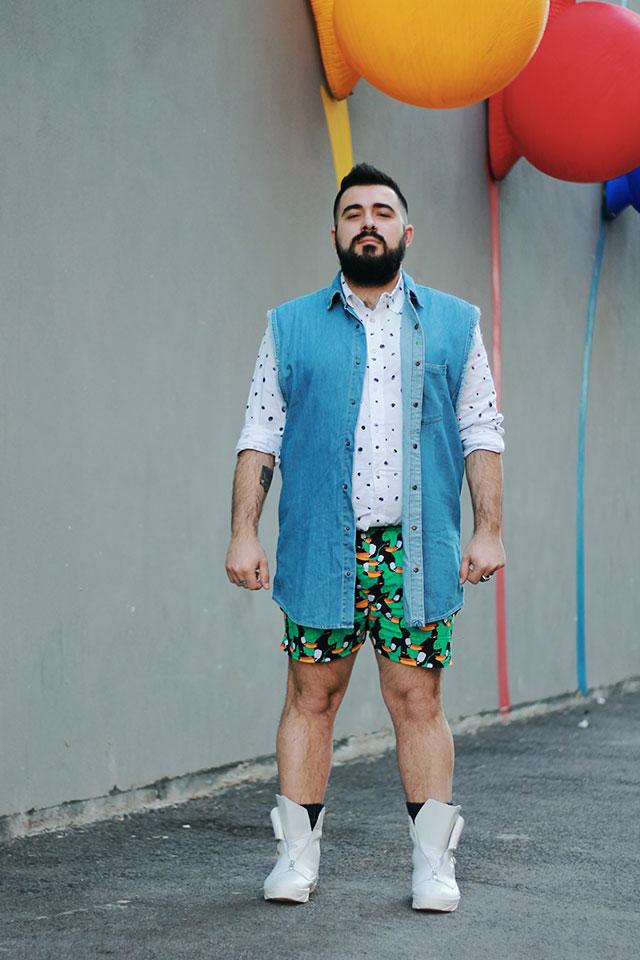 Outfit uomo estate 2017, Plus size fashion blogger uomo Roma