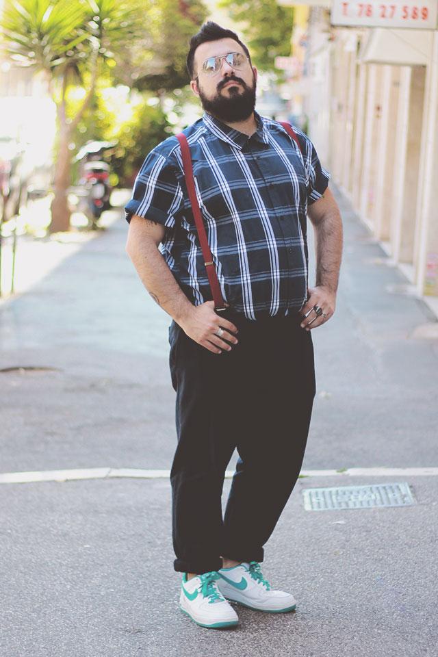 badhrino short sleeve shirt, plus size men outfit