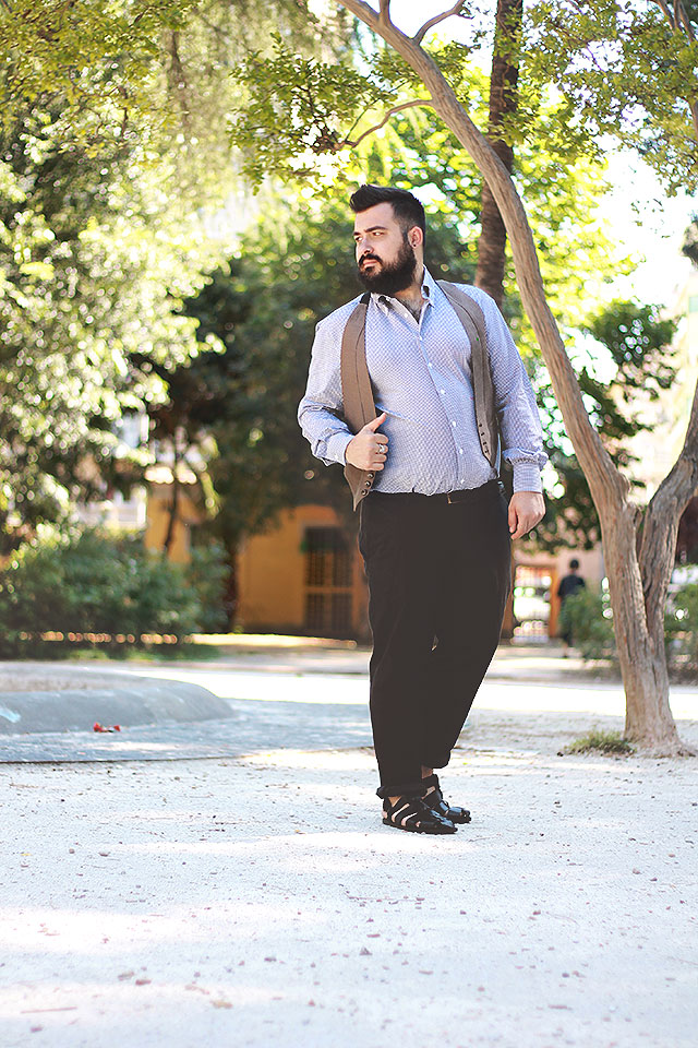 camicia su misura lanieri, plus size men outfit fashion blogger
