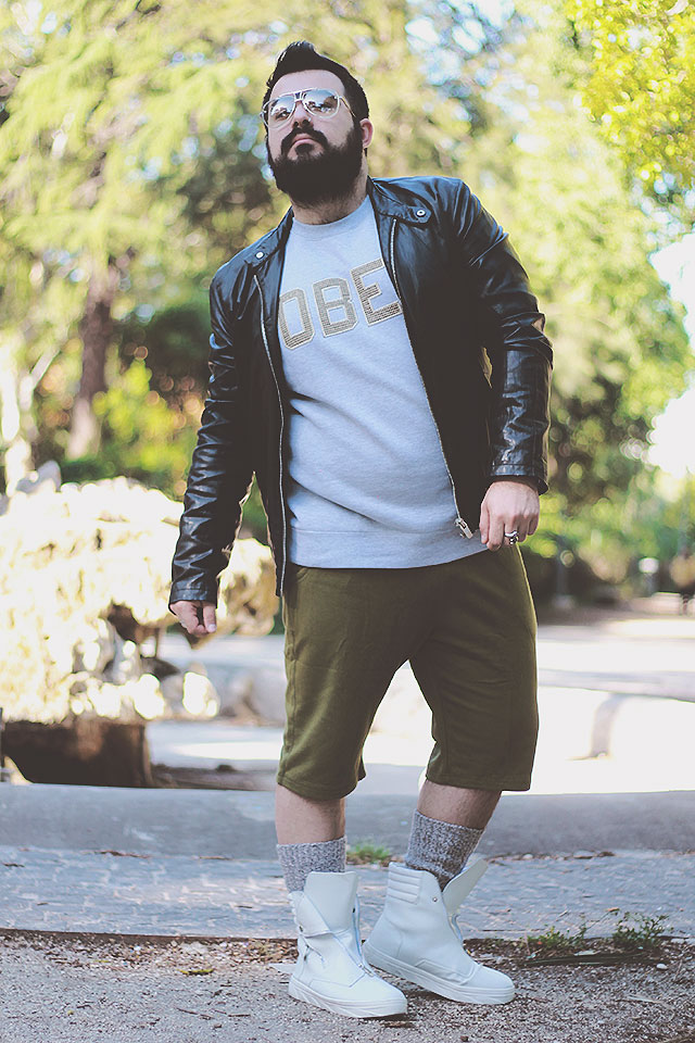 outfit, plus size men, fashion blogger uomo roma, zaful bermuda shorts