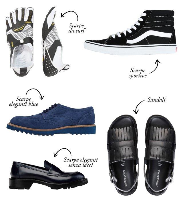scarpe uomo estate 2017