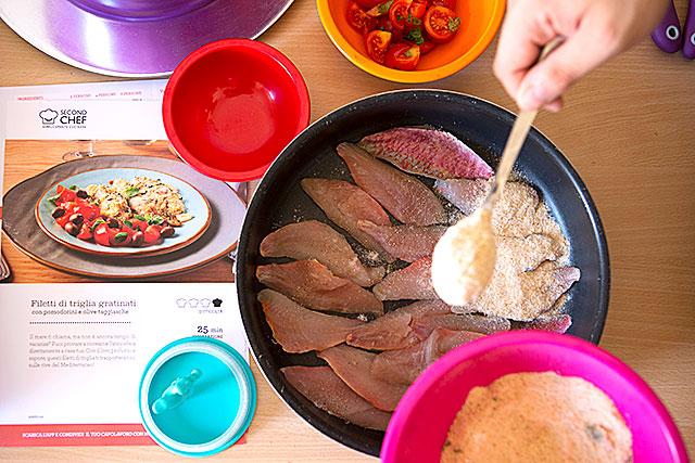 secondchef, ricette facili, servizio a domicilio spesa
