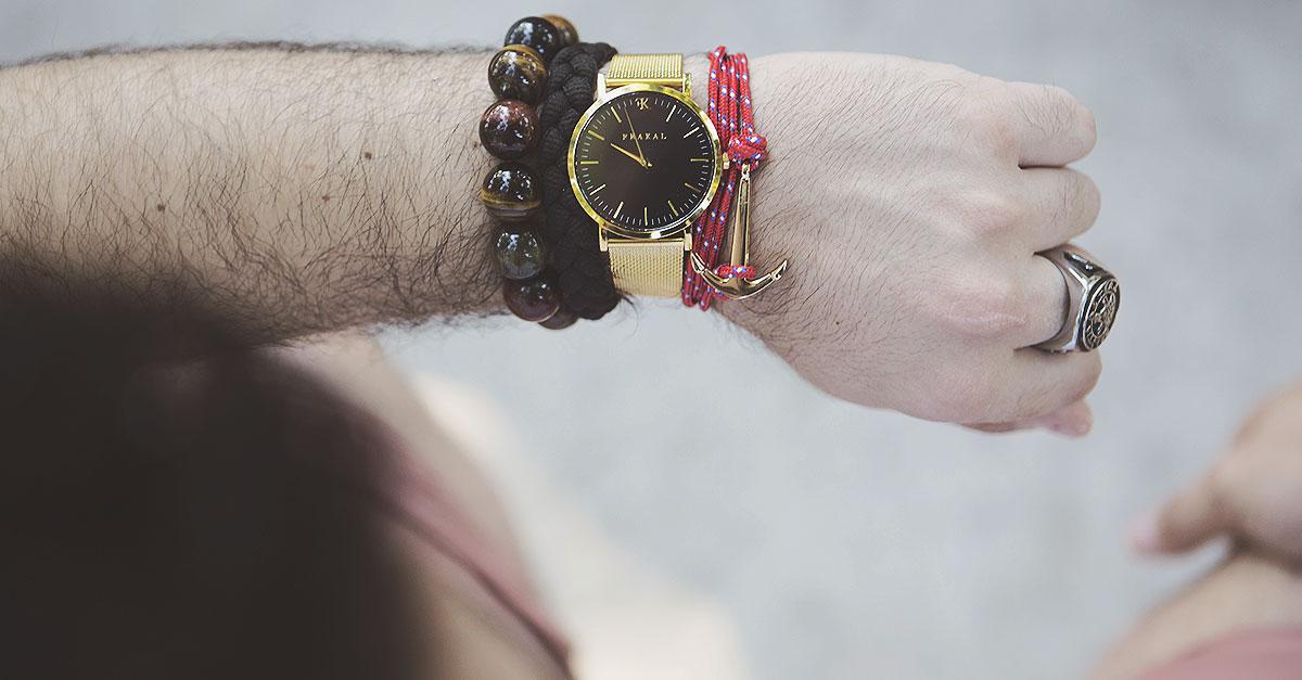orologio oro frakal watch gold