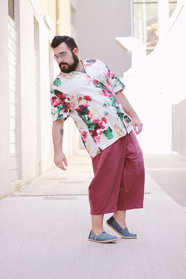 Outfit Plus Size Uomo, men turkish trousers lightinthebox