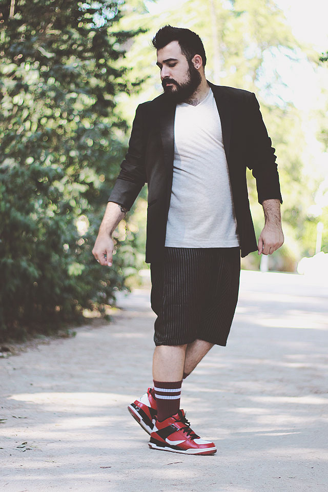 tailored shorts lightinthebox, men plus size outfit uomo