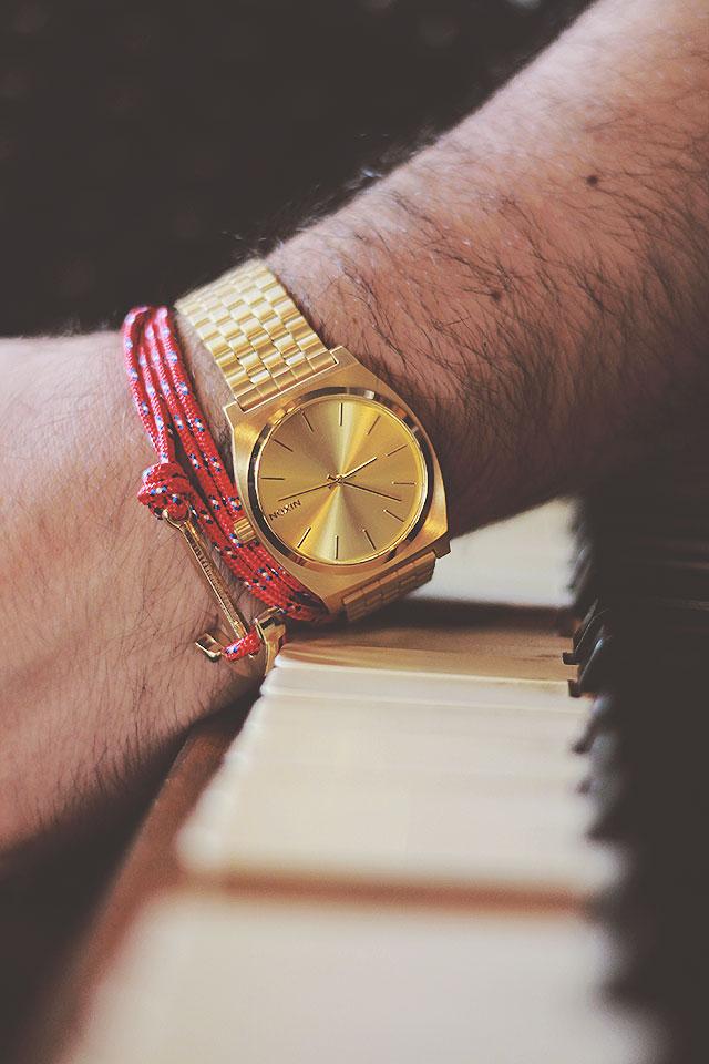 e111e545c77173 Orologio d'oro da uomo: Nixon Time Teller • Guy Overboard | Body ...
