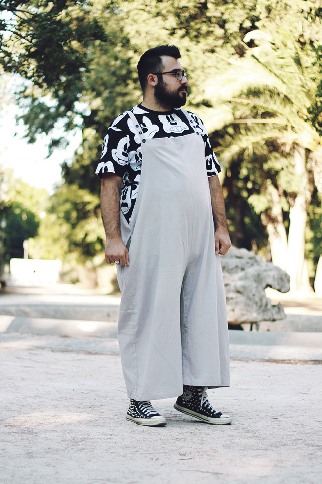 jumpsuit for men, male romper, romphim, men onesie, bro romper
