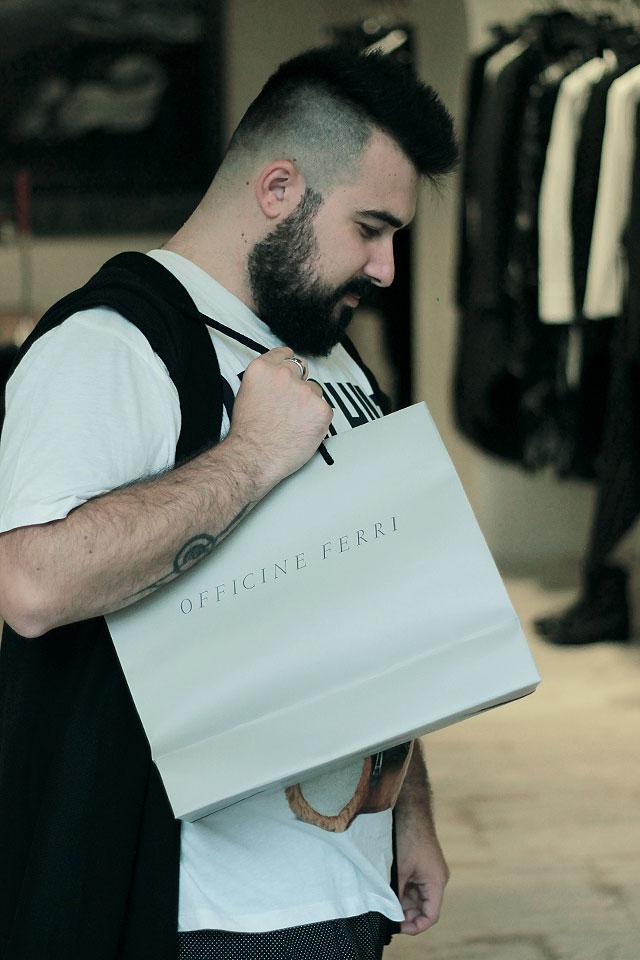 Mastercard contactless, Shopping Roma