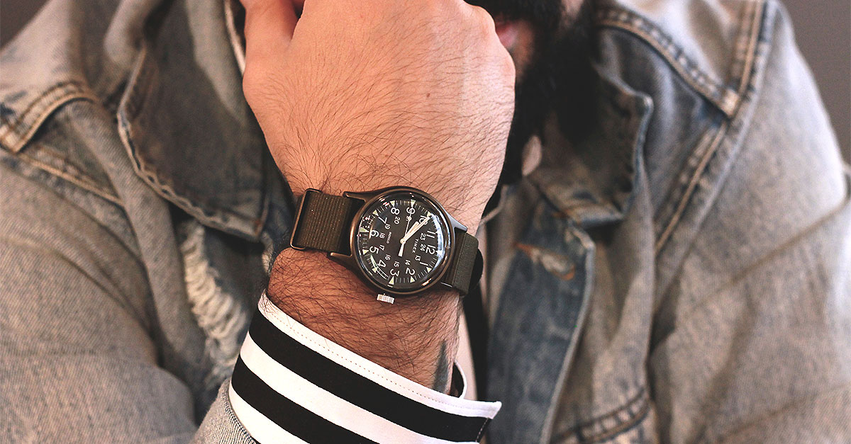 "Timex Camper MK1 is a ""civil"" version of the watch adopted by the US Army with an aluminum body that make it really modern"