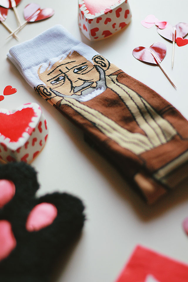 Funny Valentine's Day Gifts, Travel Passport Cover, Paw Fingerless Gloves, Star Wars Socks