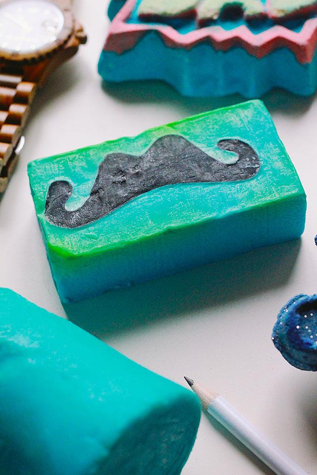 lush, festa del papà, moustachio