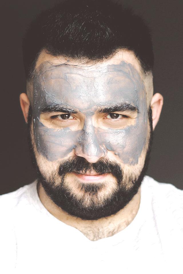 Maschera viso per uomo, Deep Black Mask, NIYO & CO