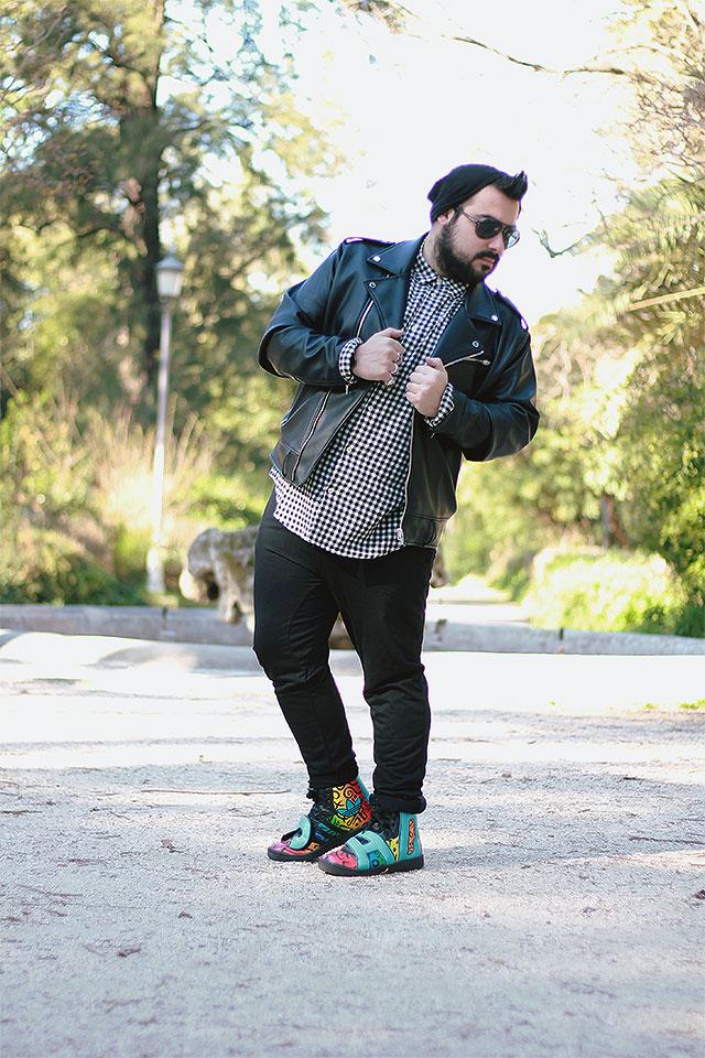 Pantaloni jogger Gearbest, plus size fashion blogger uomo