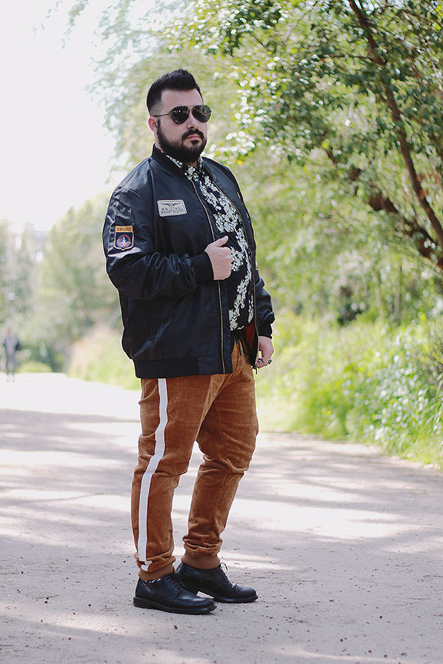 Trend uomo primavera, Plus size fashion blogger
