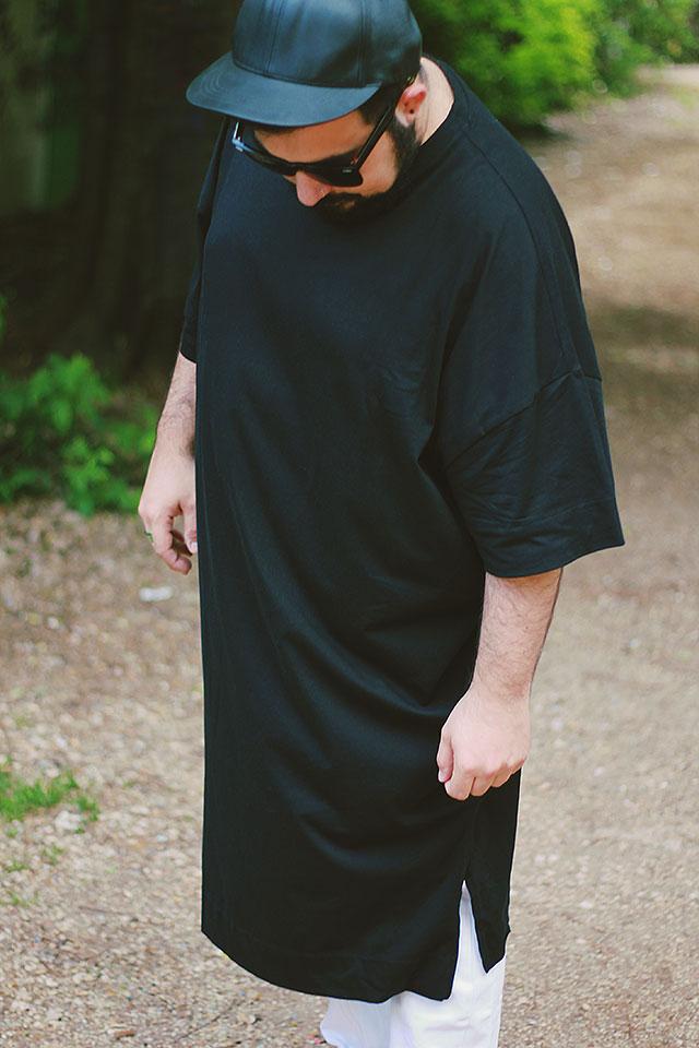 plus size fashion, tshirt super oversize, asos design plus