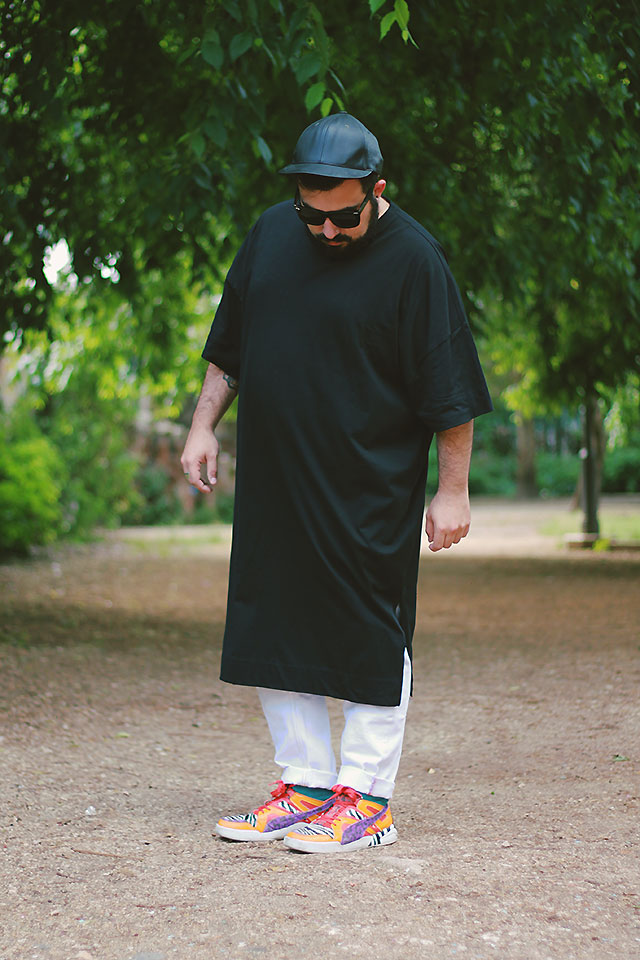 plus size fashion, tshirt super oversize, asos design plus