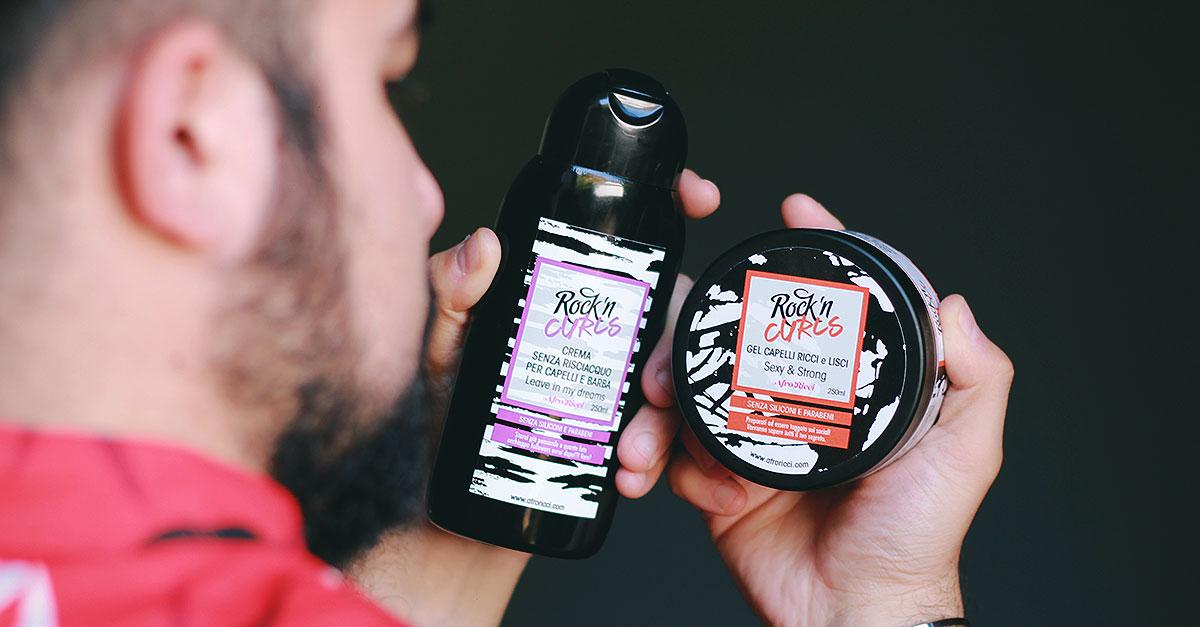 La linea ROCK'n'CURLS di AfroRicci permette di risolvere le stesse problematiche dei capelli afro come secchezza, crespo o controllo del volume sulla barba