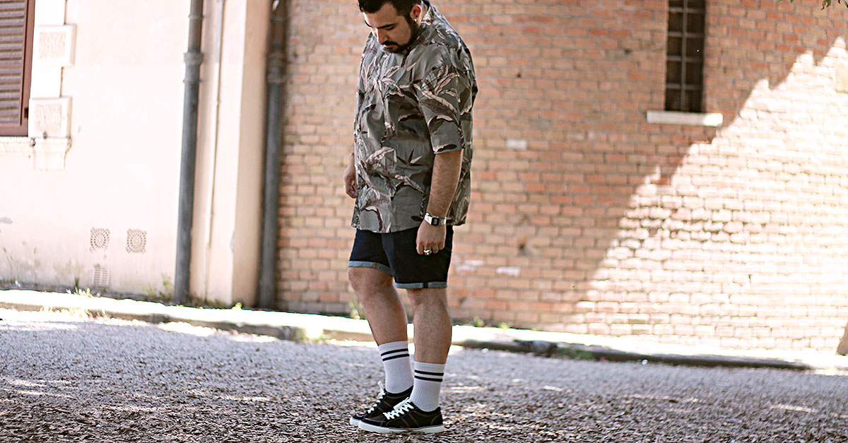 scarpe skate vans, asos plus size fashion, look uomo