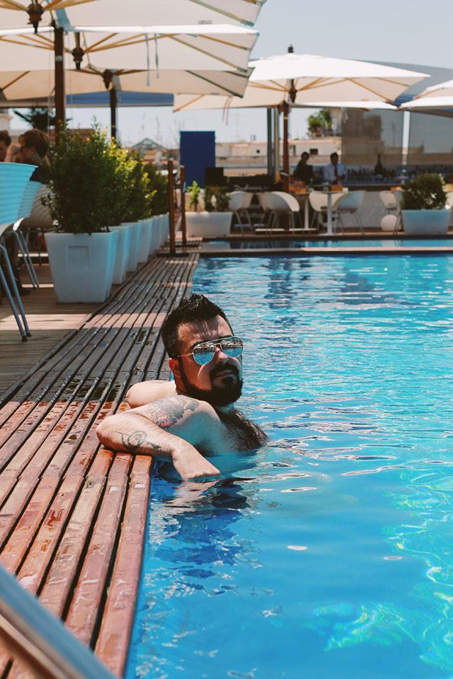 daybreakhotels, camera con piscina, vacanza in città