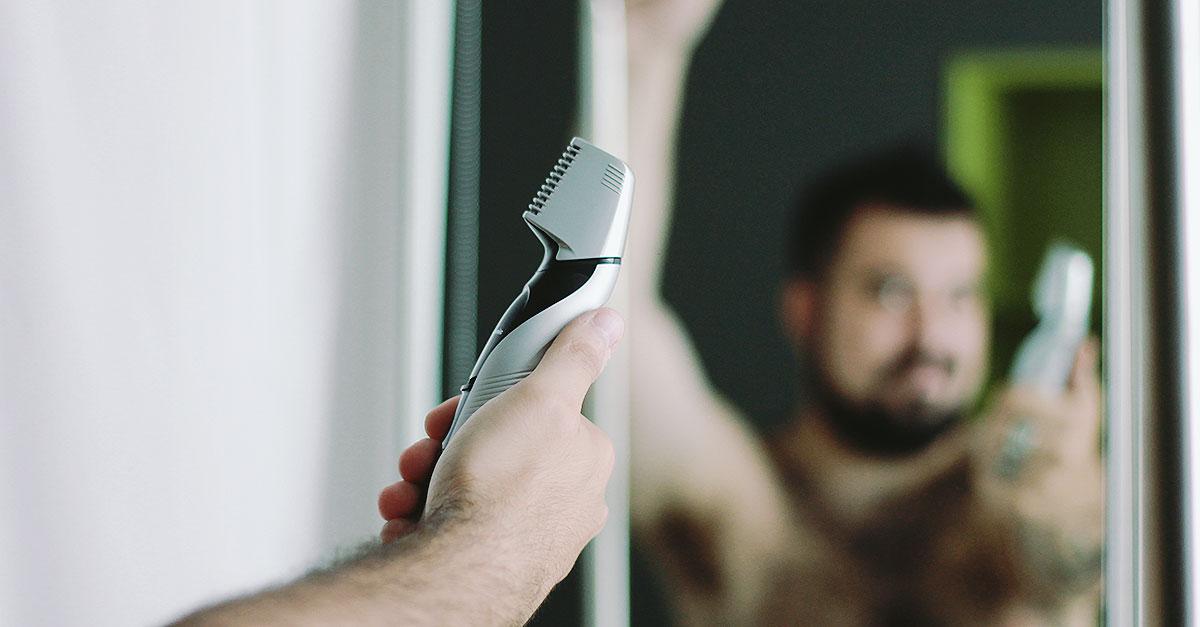 rasatura intima uomo, rasoio panasonic ergk60 ishaper