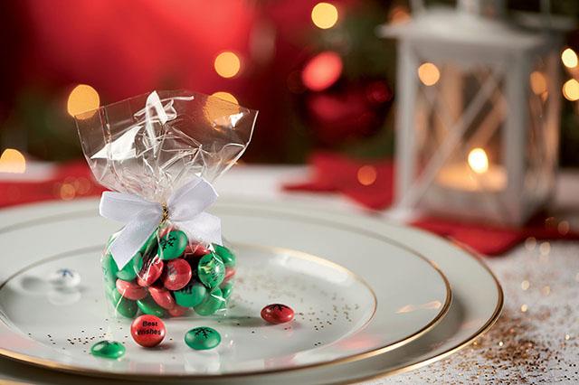 Regali di natale confetti cioccolatini M&M's
