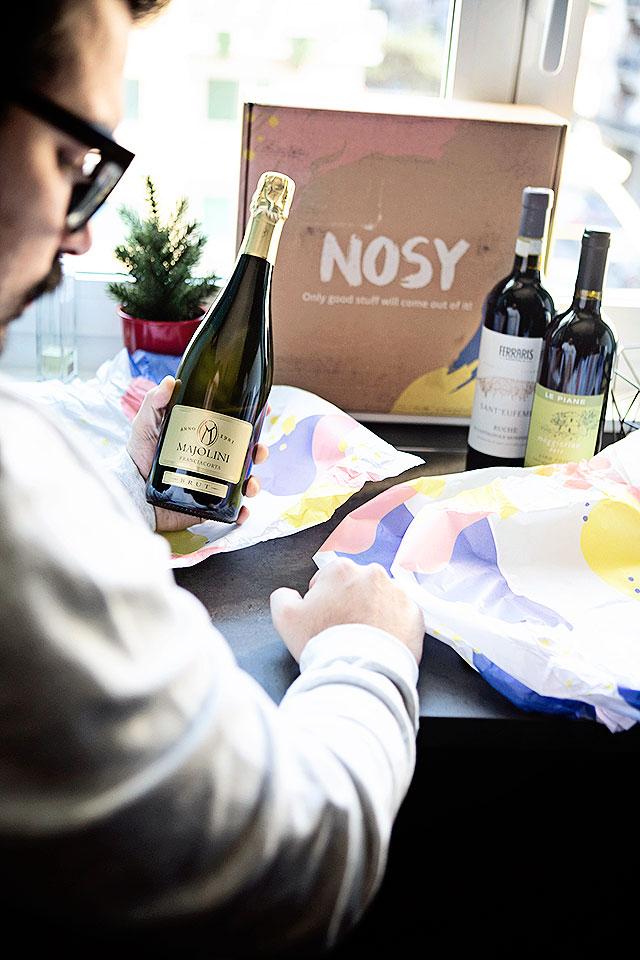 Nosy Wine Club, abbonamento vino