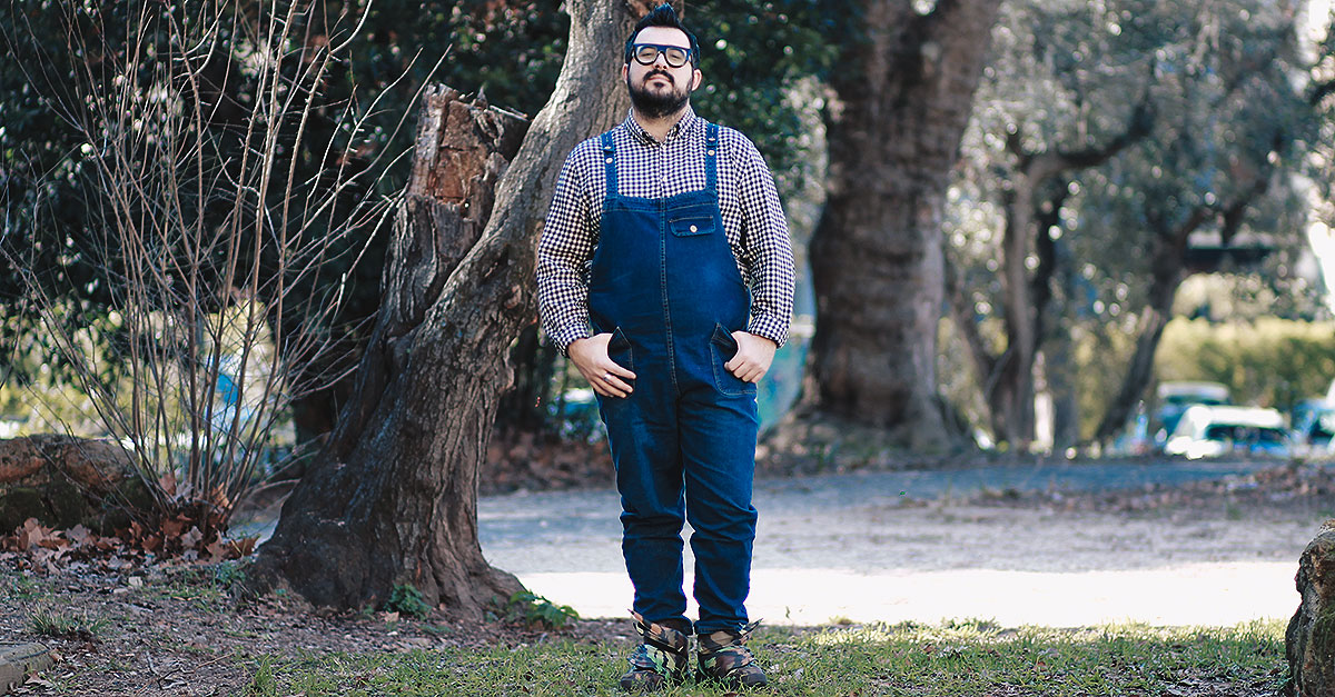 salopette da uomo, plus size men outfit, man fashion
