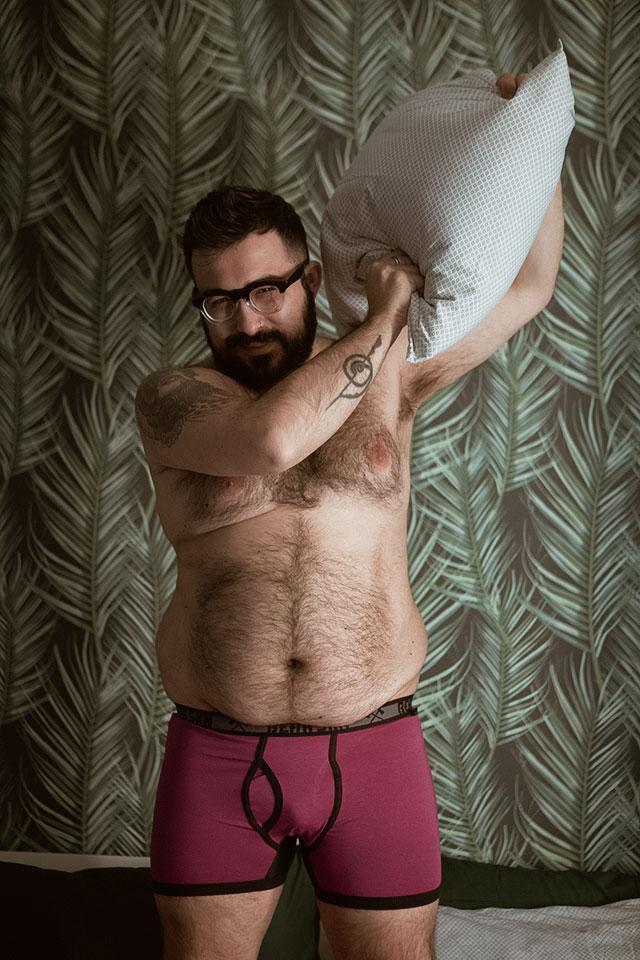 bear skn, intimo uomo taglie forti, underwear men plus size