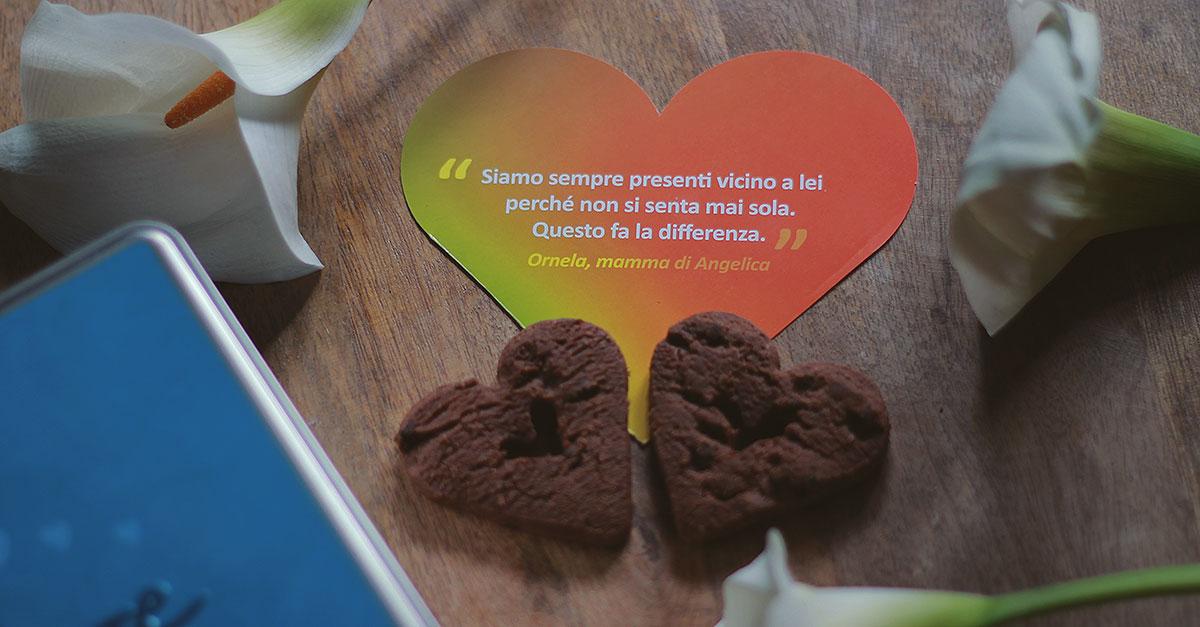 Insieme al biscottificio Grondona per la Festa della Mamma Telethon sostiene la ricerca sulle malattie genetiche rare con il Cuore di Biscotto