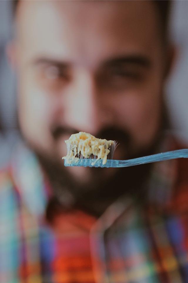 lush, gelatina denti, dentrificio vegano