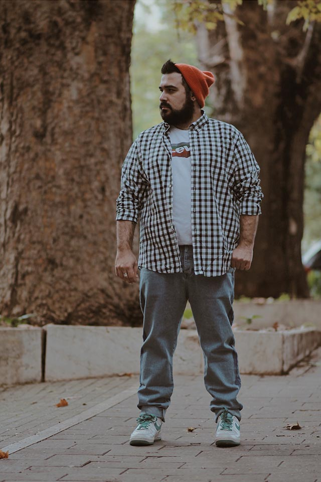 Plus size outfit for fall, Taglie forti uomo, Levis Housemark tee, Find, Meraki