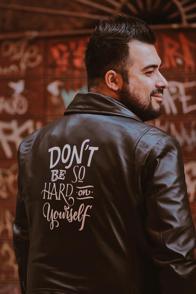 moda taglie forti uomo, the jacket maker, custom leather jacket