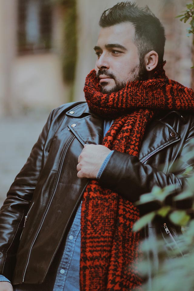 giacca in pelle su misura personalizzata, the jacket maker, custom leather jacket
