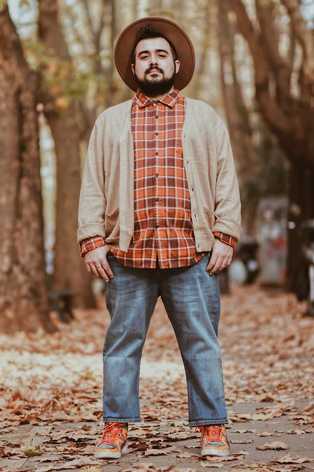 lumbersexual, outfit taglie forti, plus size outfit, amazon essentials, find, goodthreads