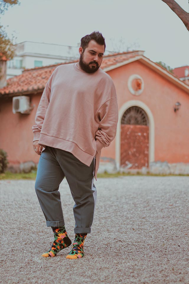 calze da uomo colorati, happy socks spring summer 2020