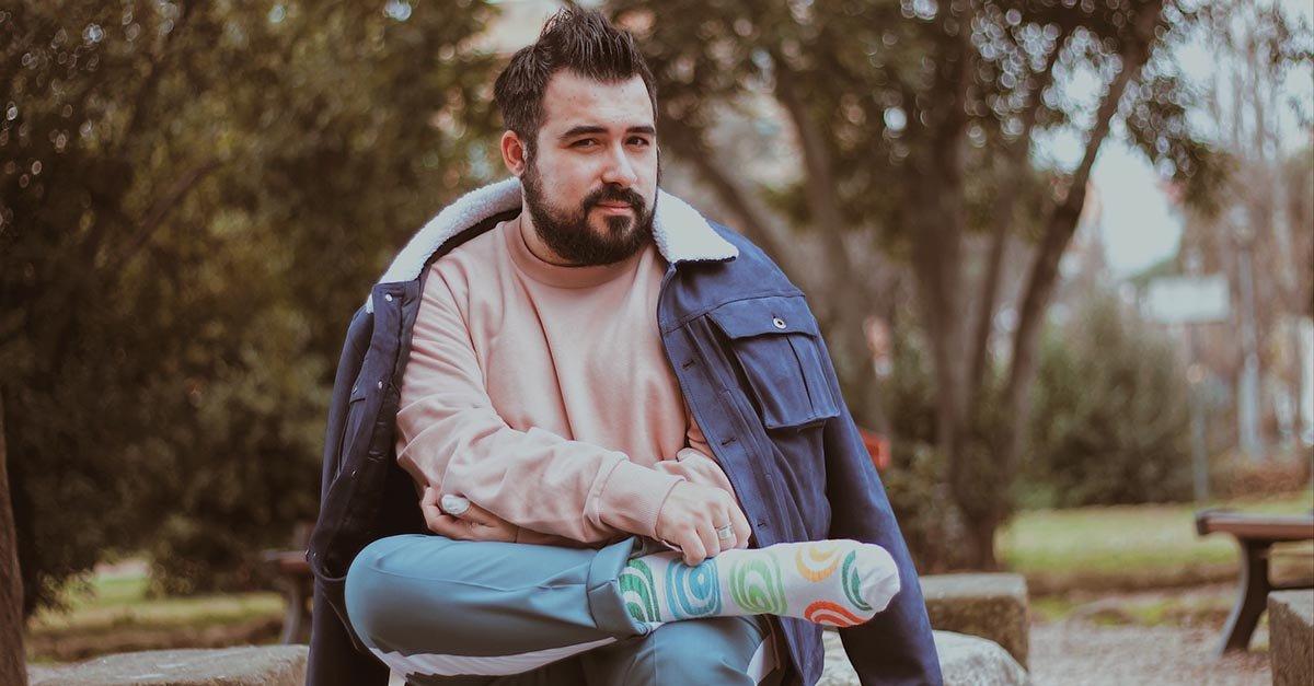 calze da uomo colorati, happy socks spring summer 2020