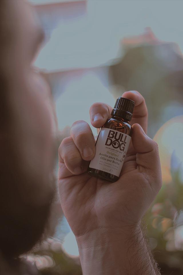 olio per barba, bulldog skincare, beard oil