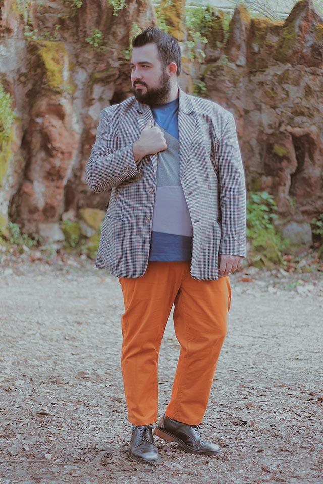 abito spezzato uomo, separates combinations, plus size fashion men