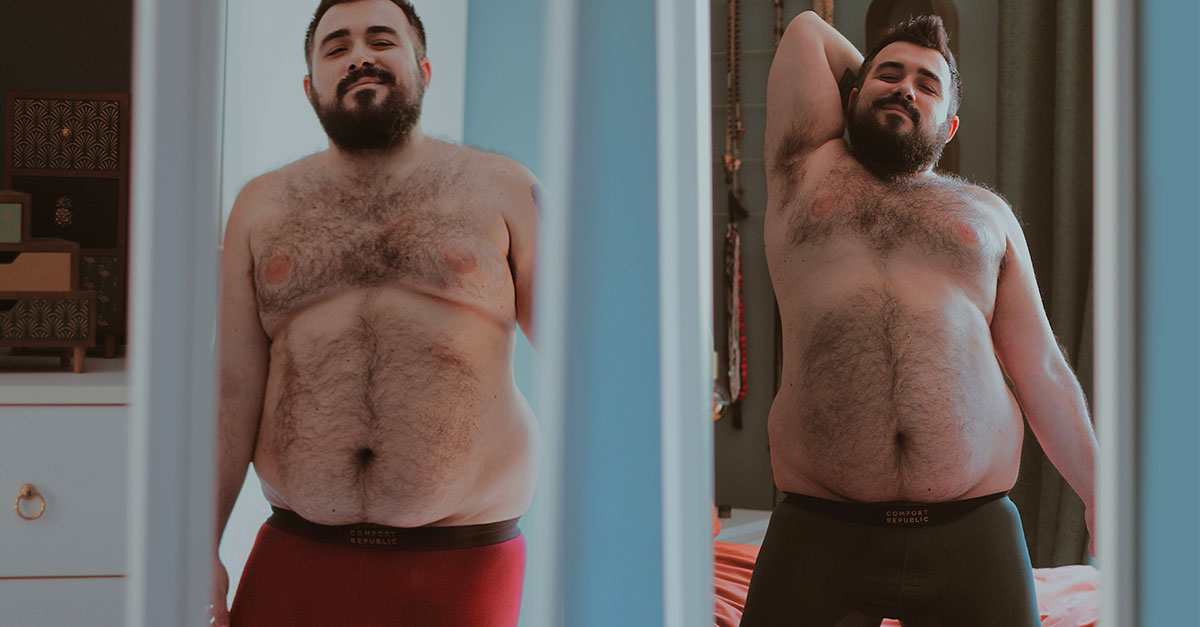 For plus-size men choosing male underwear can be difficult because their needs are not taken into account, but there is a solution