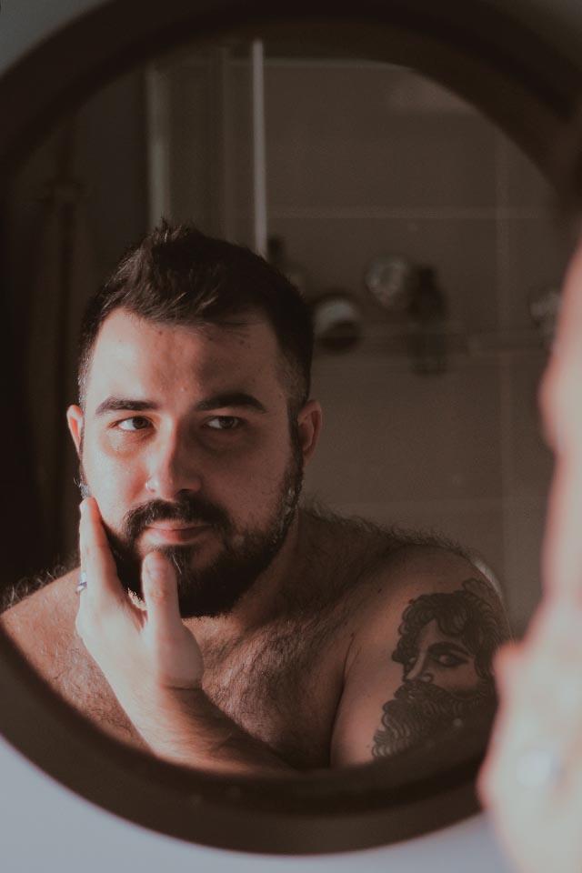 balsamo da barba, biofficina toscana, beard balm, men grooming