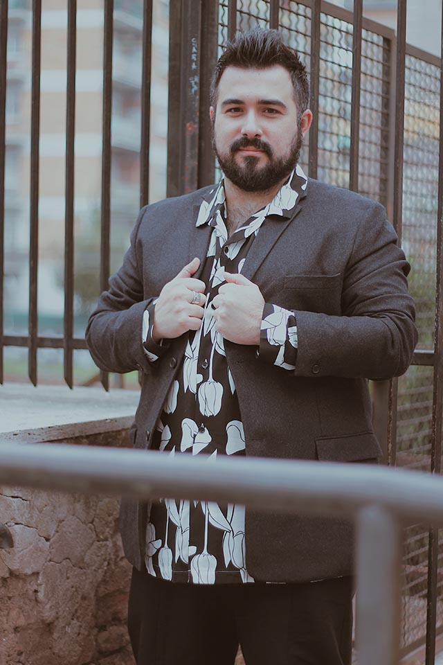 camicie floreali, floral shirts, abbigliamento taglie forti uomo, plus size men fashion